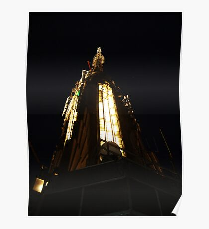 Empire State Building Spire Poster