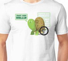 Keep Rollin Turtle Unisex T-Shirt