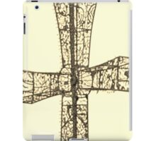 wire cross iPad Case/Skin