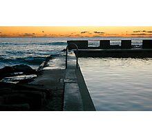 Yamba Pool Photographic Print