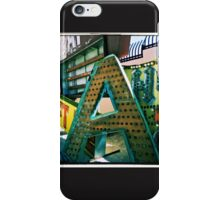 The Letter A iPhone Case/Skin