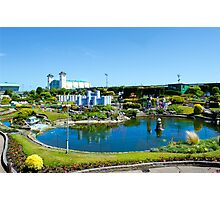 Model Village landscape Photographic Print