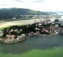 an awesome Macau landscape by beautifulscenes