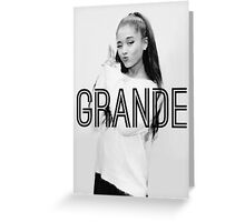 Ariana Grande, Grande Design Greeting Card