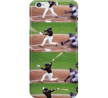 Joe Panik at bat iPhone Case/Skin