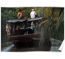Vietnam - Mekong Delta Poster