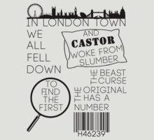 Castor Rhyme  T-Shirt