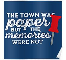 In a Paper Town - DARK Poster