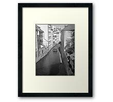 Little Venice. Framed Print