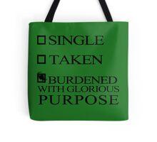 Single Taken..LOKI Tote Bag