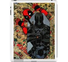 Deadpool - Target Practice! - Comic Book Collage iPad Case/Skin