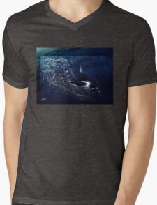 Air In Darkness Mens V-Neck T-Shirt
