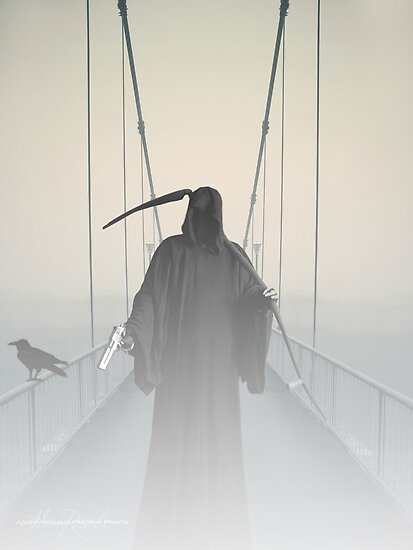 Grim Reaper This Way Comes by Adara Rosalie
