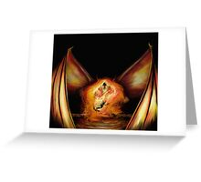 Firelight Greeting Card