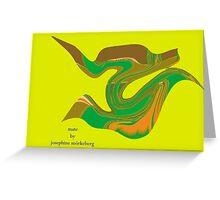 mate Greeting Card