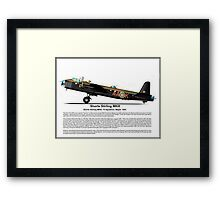 Short Stirling MKIII Profile Framed Print