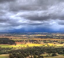 View to the Grampians by Allan Savage