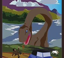 Visit Loch Ness - Brown by wo0ze
