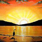 Beach Sunset by © Linda Callaghan
