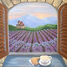 Lavender Croissant by L.W. Turek