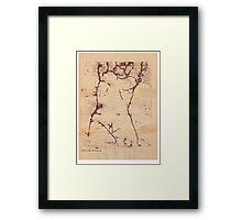 nude 10 Framed Print