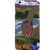 Visit Loch Ness - Brown iPhone Case/Skin