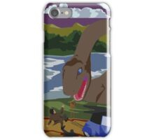 Visit Loch Ness - Brown iPhone Case/Skin