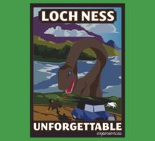 Visit Loch Ness - Brown One Piece - Short Sleeve