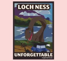 Visit Loch Ness - Brown Kids Clothes