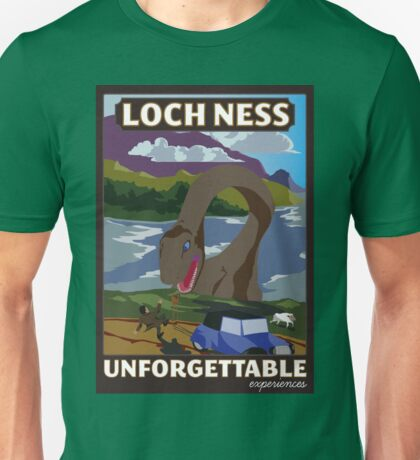 Visit Loch Ness - Brown Unisex T-Shirt