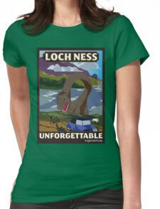 Visit Loch Ness - Brown Womens Fitted T-Shirt