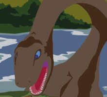 Visit Loch Ness - Brown Sticker