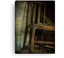 The Old Barn Chair Canvas Print
