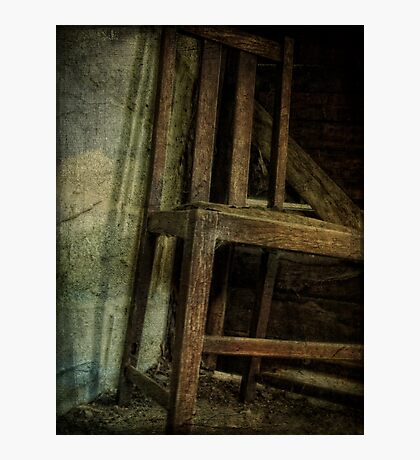 The Old Barn Chair Photographic Print