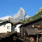 Matterhorn - a view from Zermatt by roumen