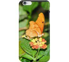 vibrant orange butterfly iPhone Case/Skin