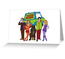 Scoobies! Greeting Card