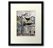 The Sea Front, Staithes Framed Print