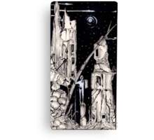 A Monument To Misfortune  Canvas Print