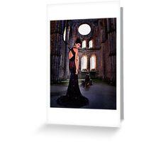 High Fashion Haute Couture Fine Art Print Greeting Card