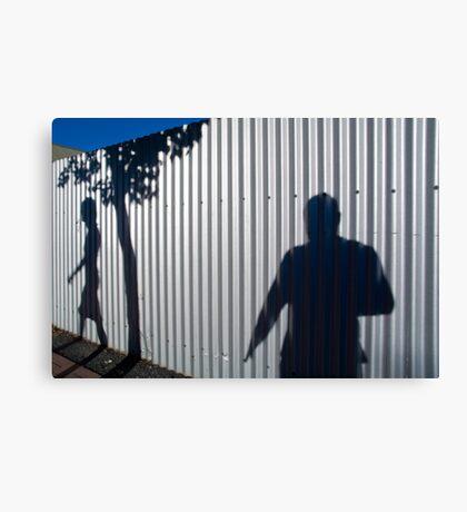 Shadowman Canvas Print
