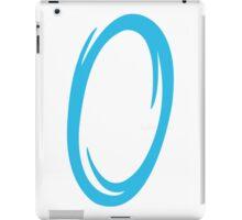 Portal-Blue iPad Case/Skin