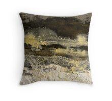 Moonlit Shore Throw Pillow