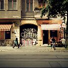 berlin street  by Fiona  Braendler