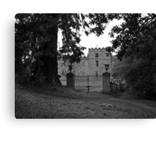 Chillingham Perimeter Canvas Print