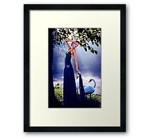 Haute Couture High Fashion Fine Art Print Framed Print