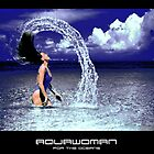 aquawoman 'for the oceans' by aquamotion