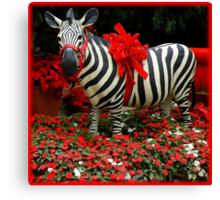 The Zebra's Mockery Canvas Print