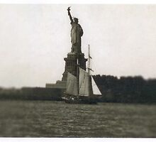 The Dutch arrive in New Amsterdam by andytechie