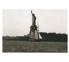 The Dutch arrive in New Amsterdam Photographic Print